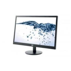 Ecran PC AOC 23.6' LED - E2470SWDA - 1920 X 1080 - 5 MS VGA - DVI - NOIR