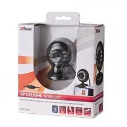 Webcam Spotlight avec micro intégré Trust usb noir